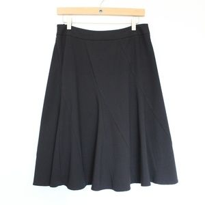 Cabi Fit and Flare Black Skirt sz 4